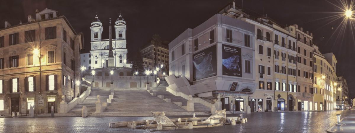 An Evening Stroll Through Magical Rome