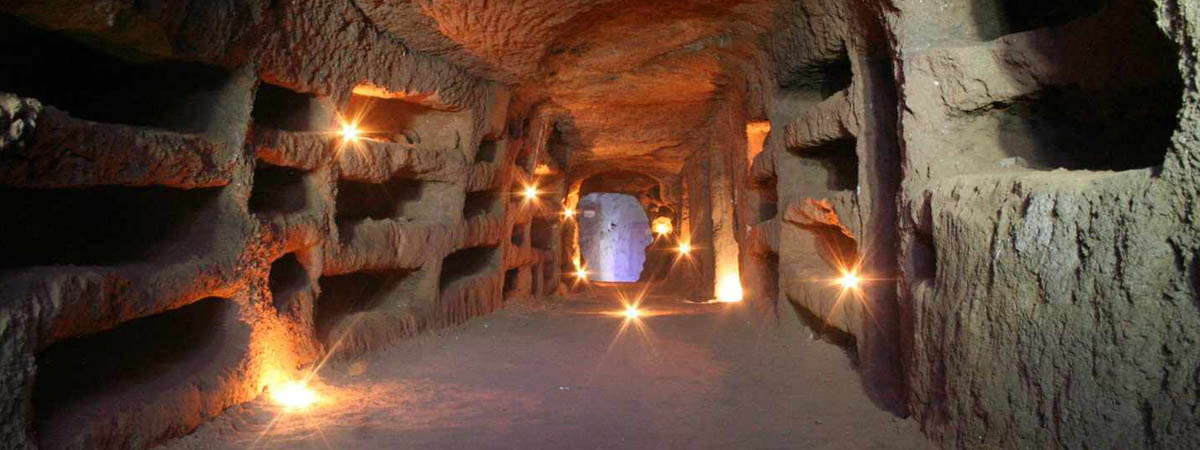 Jewish Catacombs on the Old Appian Way