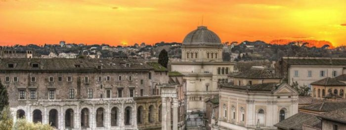 The Jewish Rome Ghetto Museum And Synagogue
