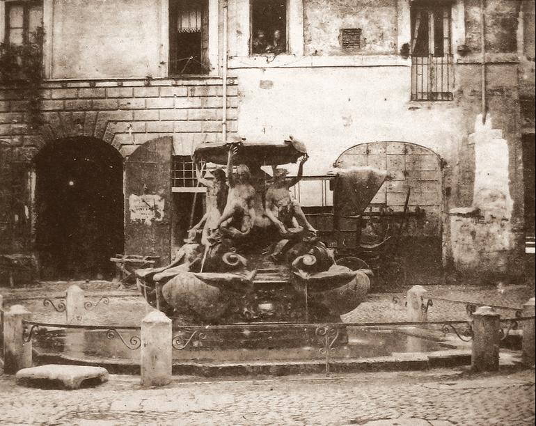 1856 Piazza Mattei
