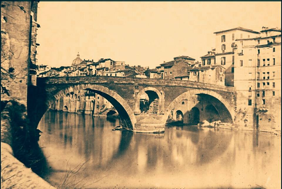 1870 ponte Fabricio
