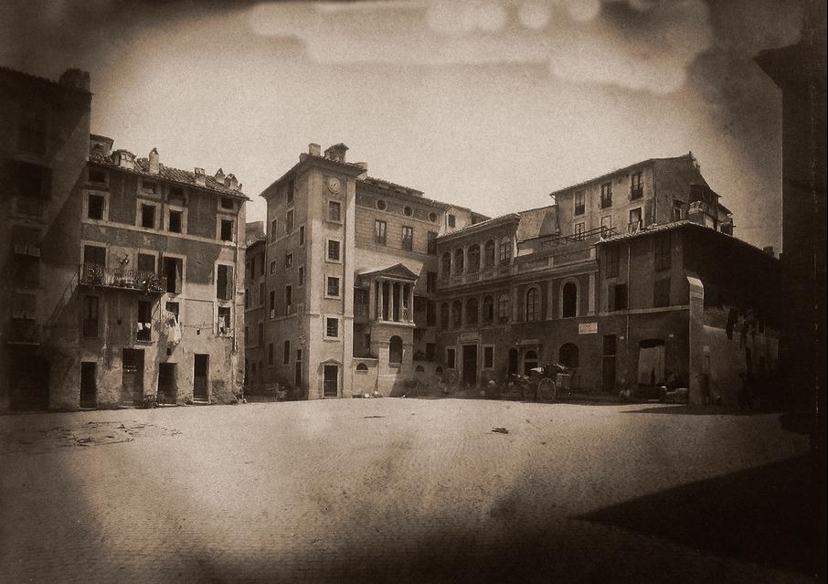 1877 Piazza delle Cinque Scole