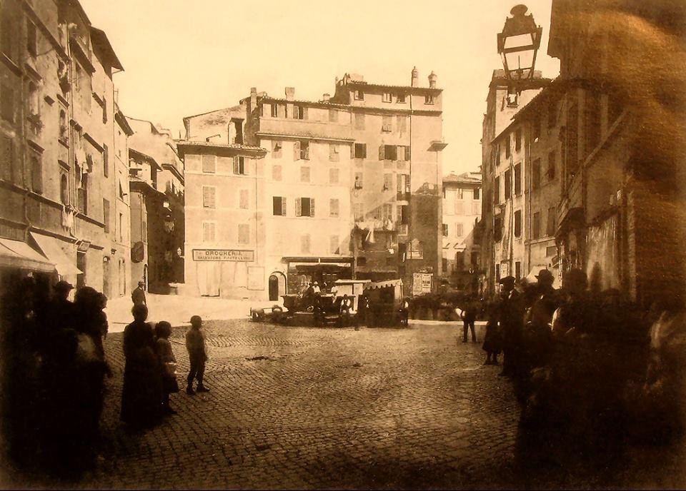 1886 piazza del Pianto