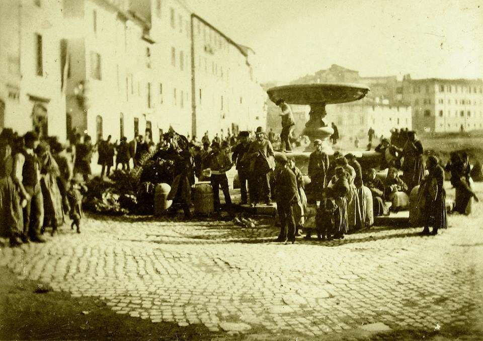 1890 Piazza Giudia