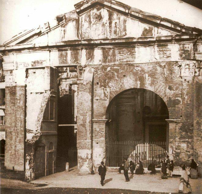 1900 portico d'ottavia