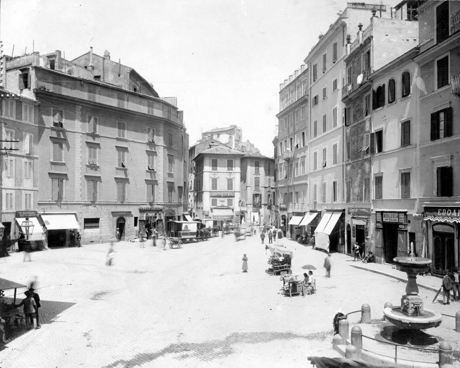 1920 via del Teatro Marcello