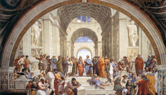 Raffaello's Scuola di Atene
