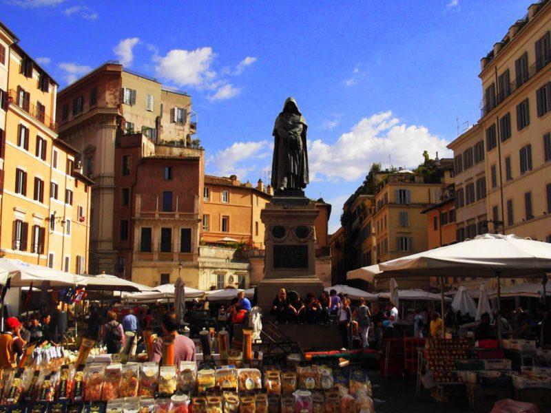Piazza Campo de Fiori market