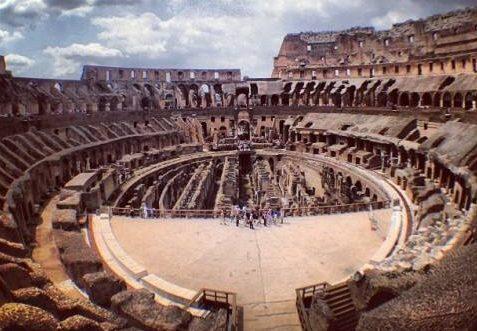 Coliseum internal view