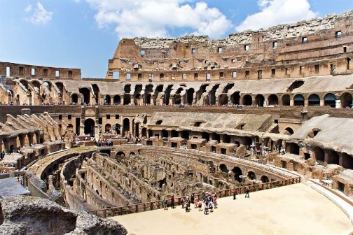 Coliseum internal view