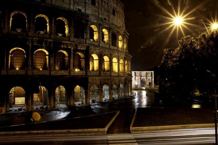 Coliseum nightview