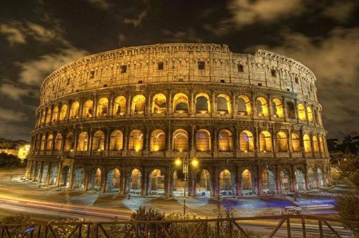 Coliseum nightview