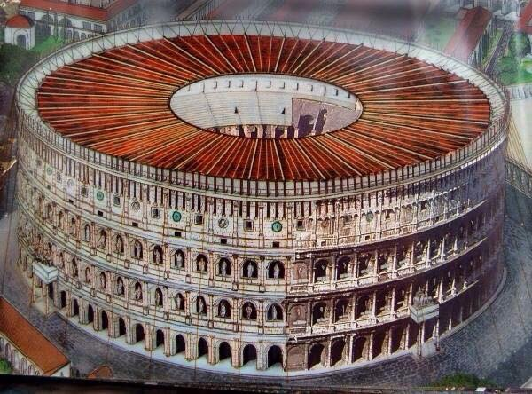 Coliseum reconstruction
