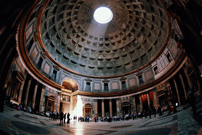 Pantheon internal view