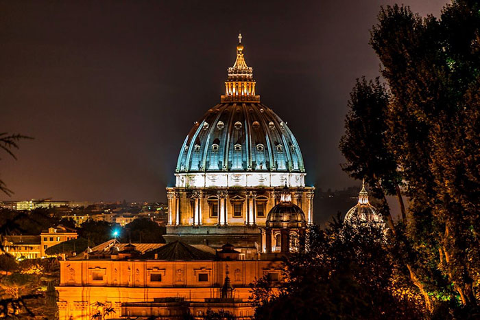 Vatican nightview